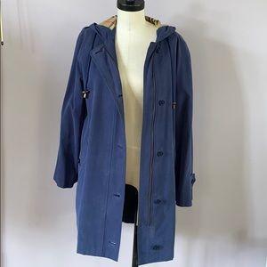 Vintage Burberrys' raincoat with half inner lining
